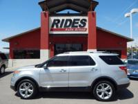 2013 Ford Explorer Limited Engine: 3.5L Ti-VCT V6