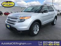 EXPLORE the ADVANTAGES in this FORD EXPLORER XLT! We