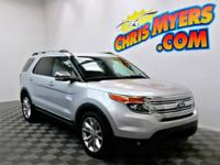 This 2013 Ford Explorer XLT has less than 54k miles**