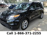 2013 Ford Explorer Limited Features: 22k miles - one