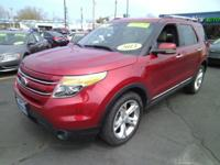 Just arrived at Main Street is this 2013 Explorer LTD.