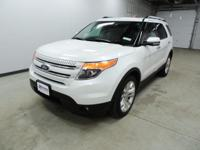Options:  2013 Ford Explorer Limited|White|Awd. At