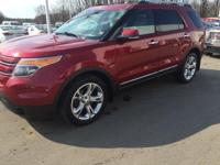 2013 Ford Explorer Limited in Ruby Red Metallic Tinted