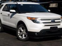 Recent Arrival! 2013 Ford Explorer Limited Oxford White