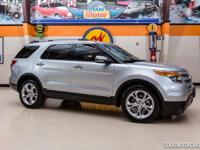 2013 Ford Explorer Limited  Luxurious silver 2013 Ford