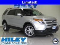 2013 Ford Explorer Limited 3.5L V6 FWD. Automatic.