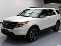 This awesome 2013 Ford Explorer Sport 4x4 comes loaded