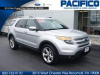 HARD TO FIND 2013 FORD EXPLORER LIMITED 4WD. THIS INGOT