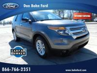 Don Bohn Ford presents this 2013 FORD EXPLORER FWD 4DR