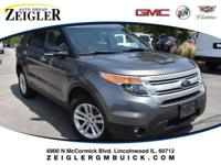 Recent Arrival! Gray 2013 Ford Explorer XLT AWD.