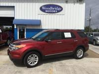 Options:  2013 Ford Explorer Xlt|Ruby Red Metallic