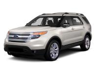ONE OWNER and CLEAN CARFAX. Explorer XLT, 4D Sport