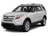 Options:  2013 Ford Explorer Xlt|This Is A 2013 Ford