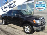 Ford Certified, 4D SuperCrew, 4WD, ABS brakes, Compass,