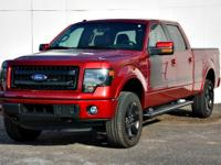 This outstanding example of a 2013 Ford F-150 FX4 is