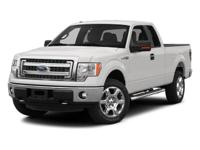 This 2013 Ford F-150 2dr - features a 5.0L 8 Cylinder