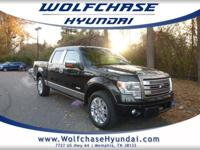 New Price! Clean CARFAX. Black 2013 Ford F-150 Platinum