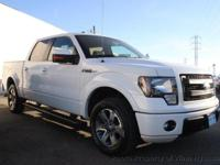 This 2013 Ford F150 SuperCrew Cab 4dr FX2 Pickup 4D 5