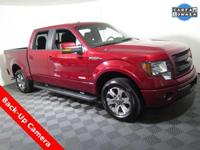 2013 Ford F-150 FX2 Super Crew with a 3.5L V6 EcoBoost
