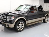 2013 Ford F-150 with Luxury Package,5.0L V8