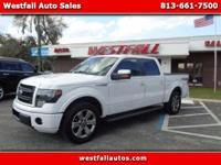 2013 F150 Fx2 Supercrew with leather seats and Power