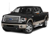 Recent Arrival! 2013 Ford F-150 Black 4WD EcoBoost 3.5L