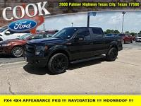 Tuxedo Black Metallic 2013 Ford F-150 FX4 4WD 6-Speed