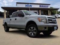 SuperCrew, White used 2013 Ford F-150 full-size pickup,