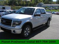 They say go big or go home! Our 2013 Ford F-150 FX4