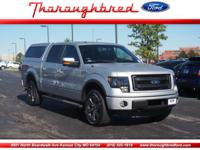 Step up to our 2013 F150 FX4 SuperCrew 4X4 in Ingot