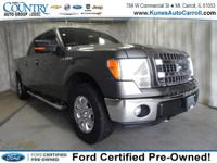 Options:  2013 Ford F-150 Fx4|Gray|4Wd|Remote