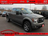 Alloy Wheels, Back-Up Camera, F-150 FX4, 4D SuperCrew,