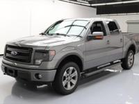 2013 Ford F-150 with FX Luxury Package,5.0L V8 SMPI