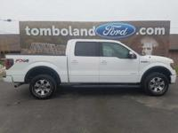 2013 Ford F-150 FX4 Oxford White ABS brakes, Alloy
