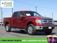 CarFax 1-Owner, This 2013 Ford F-150 XLT will sell fast