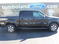 2013 Ford F-150 FX4 Tuxedo Black Metallic ABS brakes,