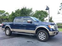 CARFAX One-Owner. Clean CARFAX. Blue 2013 Ford F-150