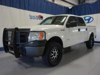 White 2013 Ford F-150 XLT 4WD 6-Speed Automatic