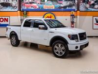 2013 Ford F-150 FX4  WHITE 2013 Ford F-150 FX4 with