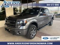 Certified. Sterling Gray Metallic 2013 Ford F-150 FX4