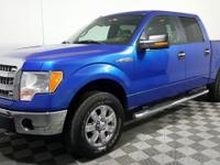 Just Reduced! This 2013 Ford F-150 in Blue Flame