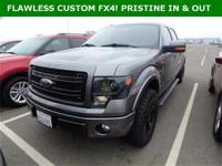 ***WOW! FLAWLESS CUSTOM 2013 FORD F-150 FX4 4x4! CUSTOM