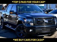 This 2013 Ford F-150 4dr 4WD SuperCrew 145 FX4 features
