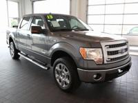 Options:  2013 Ford F-150|Gray|Ecoboost 3.5L V6 Gtdi