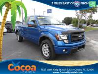 This 2013 Ford F-150 FX4 in features: Recent Arrival!