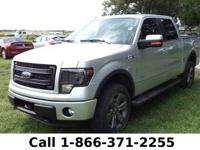 2013 Ford F-150 FX4 Features: Leather Seats - Sunroof -