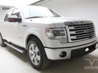 This 2013 Ford F-150 Lariat Crew Cab 2WD with only