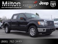 Climb inside the 2013 Ford F-150! A comfortable ride