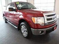 Options:  2013 Ford F-150|Red|**Clean Carfax** And Low