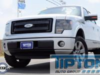 2013 Ford F-150 in Silver exterior and Black Leather,